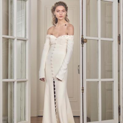 Suknie ślubne 2019 Ellepl Trendy Wiosna Lato 2019 Moda Modne