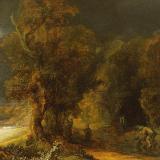 Rembrandt W łazienkach Królewskich Elle Decoration