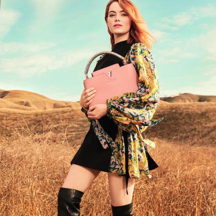 00c0a6cf90409f kampanie wiosna-lato 2018. Emma Stone w najnowszej kampanii Louis Vuitton