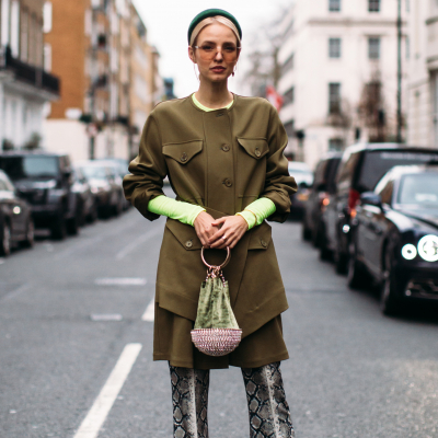 Street fashion: London Fashion Week jesień-zima 2019/2020