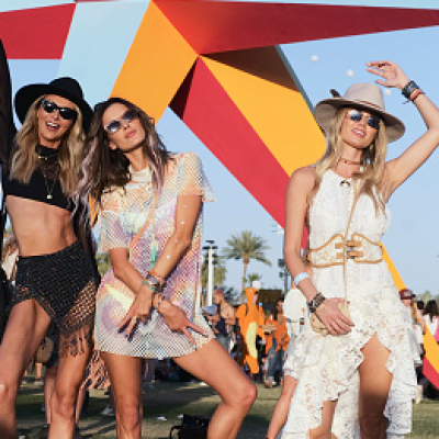 Street fashion: Coachella 2018