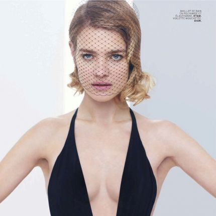 Natalia Vodianova dla L'Officiel Paris