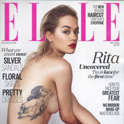 Rita Ora w ELLE UK!