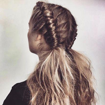 Chłodny Warkocze - Elle.pl - trendy wiosna lato 2019: moda, modne fryzury BL38