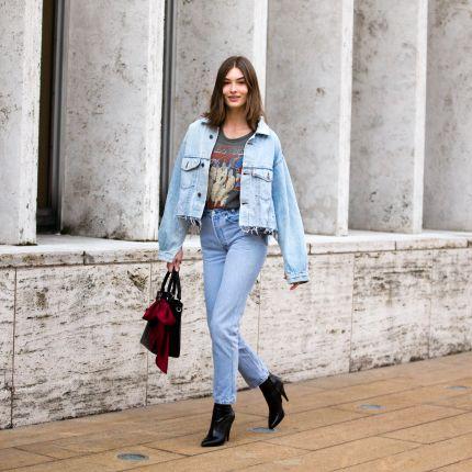eed52f756bdd8 denim - Elle.pl - trendy wiosna lato 2019: moda, modne fryzury, buty ...