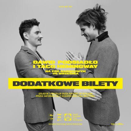 9fb5b55242a053 Bilety na koncert Dawida Podsiadły i Taco Hemingwaya będą jeszcze dostępne!