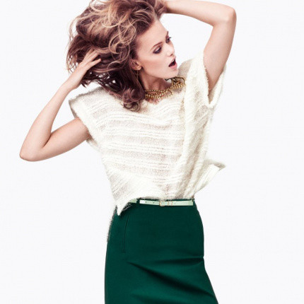 Nowy lookbook H&M: pastele na zimę