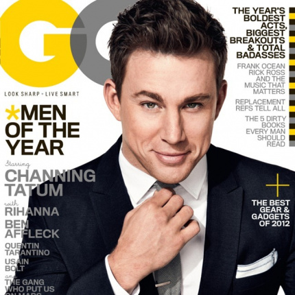 Channing Tatum w GQ US
