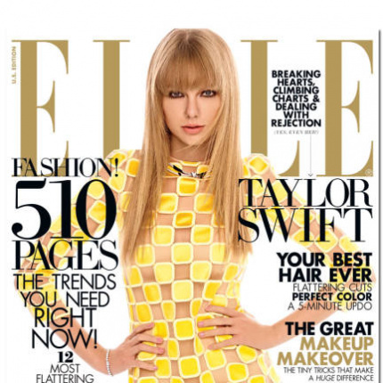 Taylor Swift w ELLE US