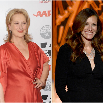 "Meryl Streep i Julia Roberts w filmie ""August: Osage County"""