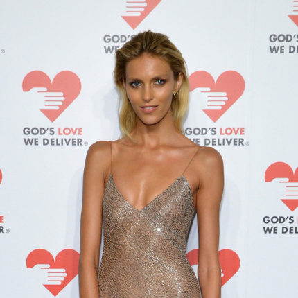Anja Rubik na gali God's Love We Deliver