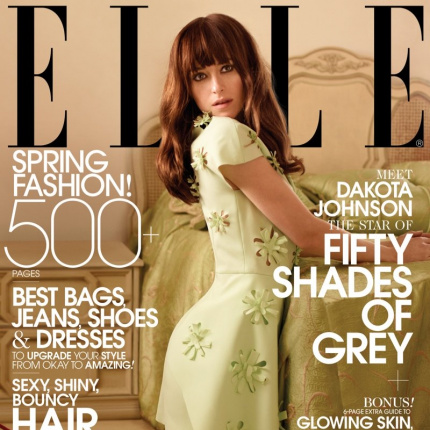 Dakota Johnson w marcowym ELLE US!