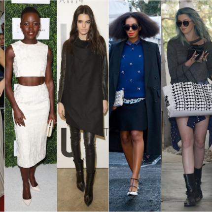 Nowe it girls: Suki, Lupita, Kendall, Solange, Ireland i Lily