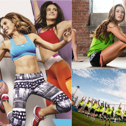 Night Runners, all in for #mygirls i Reebok Women's Fitness Camp