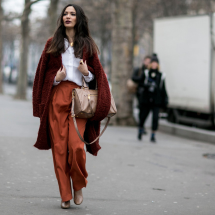 Street fashion: Paris Fashion Week Haute Couture wiosna-lato 2015