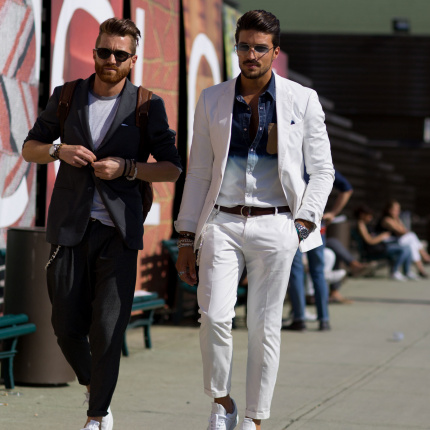 Street fashion: Firenze Men's Fashion Week wiosna-lato 2016