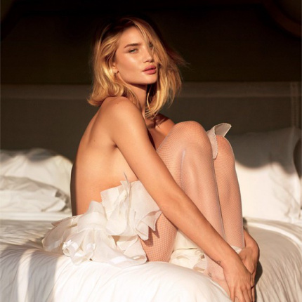 Sekrety figury Rosie Huntington-Whiteley