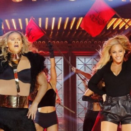 "Channing Tatum jako Beyoncé w piosence ""Run the World (Girls)"""