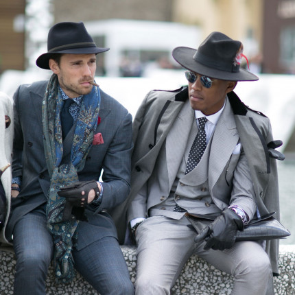 Street fashion: Firenze Pitti Uomo jesień-zima 2016/2017