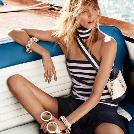 Anja Rubik w kampanii Michael Kors Collection Resort 2017