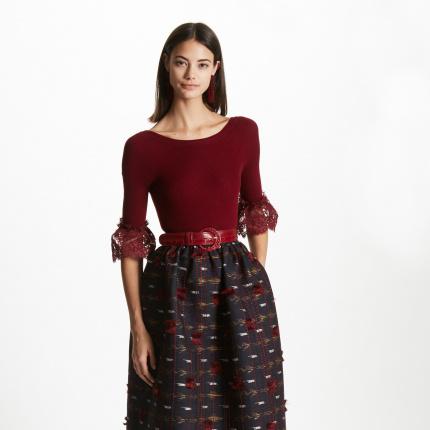 fb66ca2f5c oscar de la renta - Elle.pl - trendy wiosna lato 2019  moda