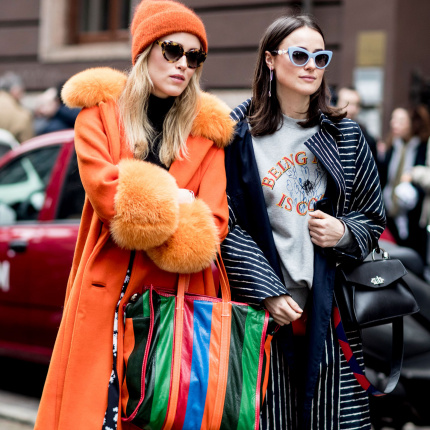 Street fashion: Milan Fashion Week jesień-zima 2017/2018
