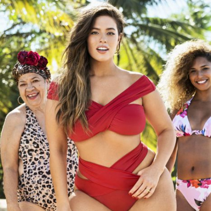 Ashley Graham w kampanii Swimsuits For All