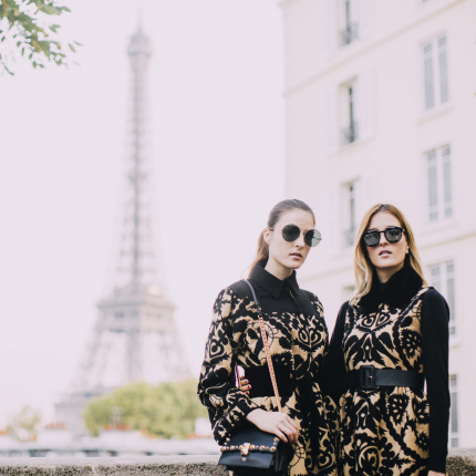 Street fashion: Paris Fashion Week wiosna-lato 2018