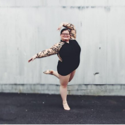 Lizzy Howell: balerina plus size