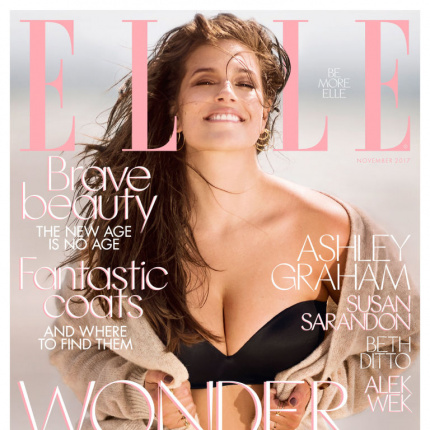 Ashley Graham, Susan Sarandon, Beth Ditto i Alek Wek w ELLE UK!