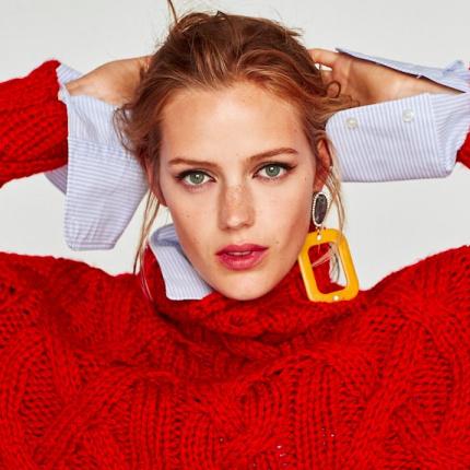 717748e80df7bd sweter - Elle.pl - trendy wiosna lato 2019: moda, modne fryzury ...