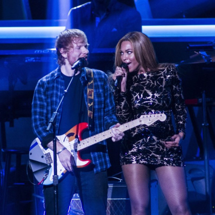 "Ed Sheeran i Beyoncé ""Perfect duet"""