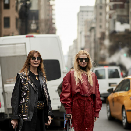 Street fashion: New York Fashion Week jesień-zima 2018/19 - część 2