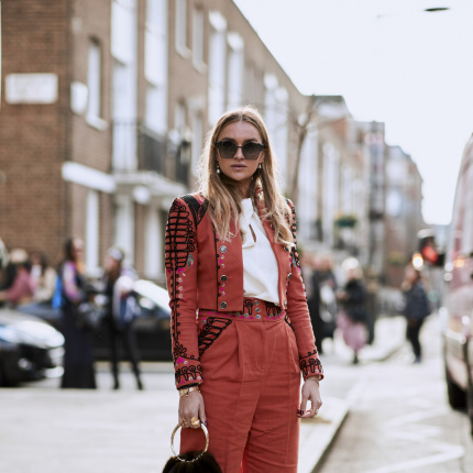 Street fashion: London Fashion Week jesień-zima 2018/2019