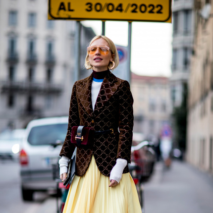 Street fashion: Milan Fashion Week jesień-zima 2018/2019