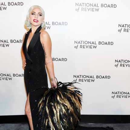 Lady Gaga na gali National Board of Review 2019[ELLE Spy]