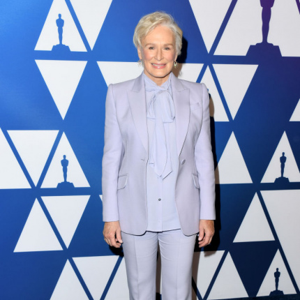 Glenn Close na Oscars Luncheon 2019 [ELLE Spy]
