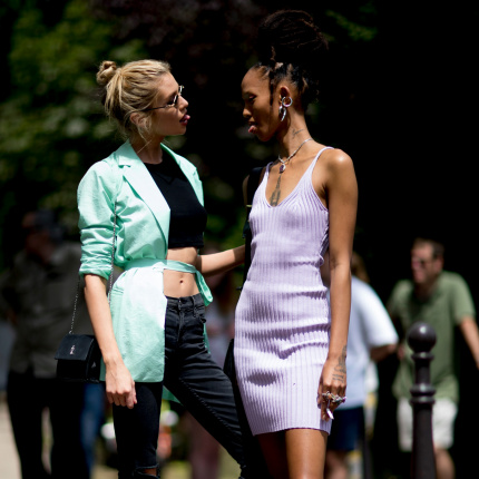 Street fashion: Paris Fashion Week haute couture jesień-zima 2019/2020