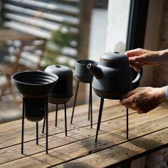Poruszenie - zestaw do parzenia herbaty, projekt: Karolina Sikora