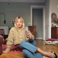 modny kardigan na jesień: Sabina Socol