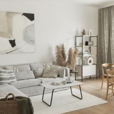 Jasne mieszkanie na Woli, projekt: Dash Interiors (Daria Wachowicz i Martyna Kupis)