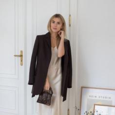 Kasia Tusk w bieliźnianej sukience Moye