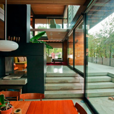 Zielony dom w USA od LivingHomes, projekt: Ray Kappe