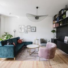 Eklektyczne mieszkanie w gdańskiej kamienicy, projekt:  studio bo/sko