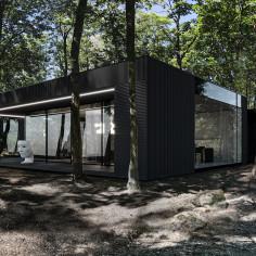 RE: DARK HOUSE, projekt Marcin Tomaszewski, pracownia REFORM Architekt