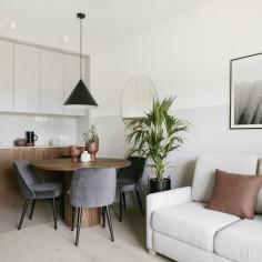Mieszkanie w Iławie nr 2,  projekt: Ula Schönhofer