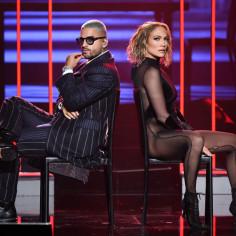 Maluma i Jennifer Lopez na AMA 2020