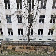 Domek dla jeży na krakowskiej AGH