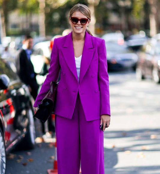 927c441fe6 Street fashion  damski garnitur - Elle.pl - trendy wiosna lato 2019 ...
