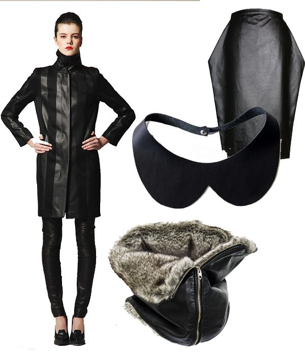 62795863b960ff Trend: skóra - Elle.pl - trendy wiosna lato 2019: moda, modne ...